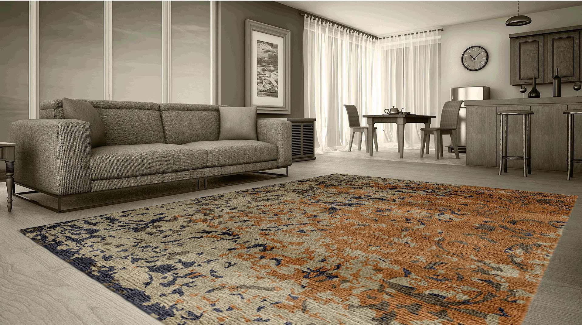 Mercado en línea de alfombras indias