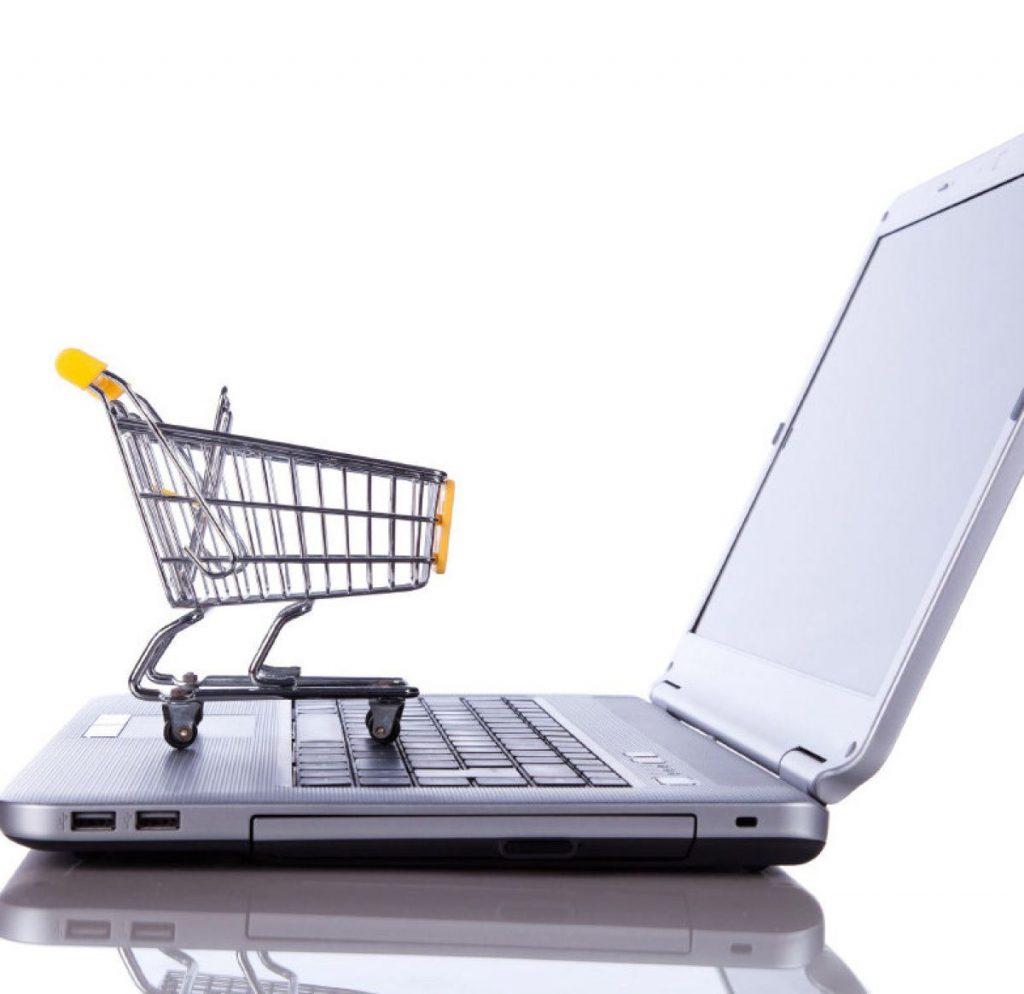 Papel en las compras en línea